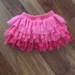 Pink tutu skirt, size 18M